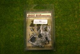 GREAT WAR MINIATURES B.E.F. British Cavalry w. Lances B24