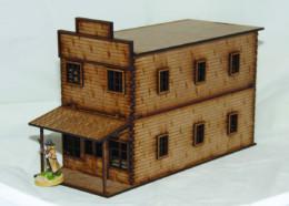 Old West Cowboy Building #1Large 25mm, 28mm D031 Sarissa Precision