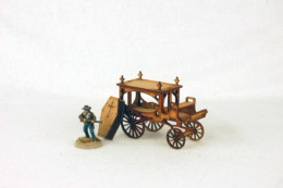 Old West / Gas Lamp Alley HORSE DRAWN HEARSE  28mm G068 Sarissa Precision