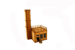 WW EUROPE FACTORY POWER PLANT 28mm Laser cut MDF i003