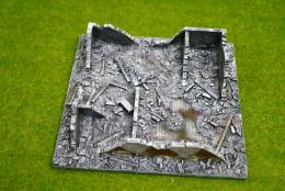 Conflix KURSK RUINS WINTER 20mm 25mm Terrain & Diorama EM6507