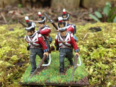 Hanoverians Advancing