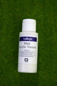 Vallejo MATT ACRYLIC VARNISH Acrylic 60mls 26518