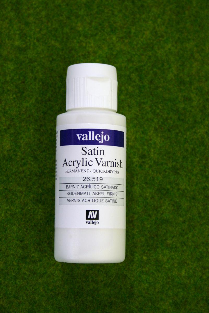 Vallejo SATIN ACRYLIC VARNISH Acrylic 60mls 26519