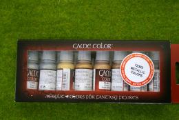 Vallejo METALLIC COLOURS  Game Colour 8 bottle set 72303
