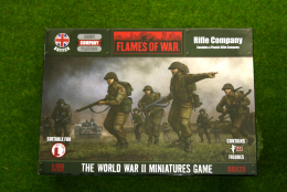Flames of War British Rifle Company PLASTIC 15mm BBX28