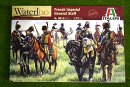 FRENCH IMPERIAL GENERAL STAFF 1/72 Italeri Napoleonic Wars 6016
