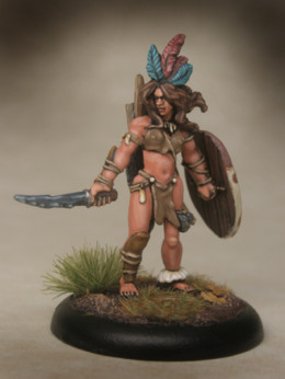 Lucid Eye Amazon PARITE and her Bods Savage Core Faction 28mm FACTION02