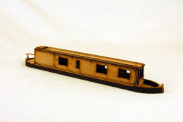 Gas Lamp Alley VICTORIAN HOUSE BOAT CANAL BARGE MDF scale Building 28mm G073
