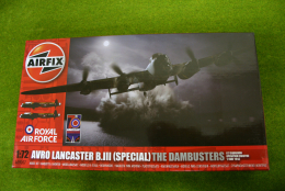 Avro Lancaster B.III (Special) The Dambusters  1/72 scale Airfix Kit A09007
