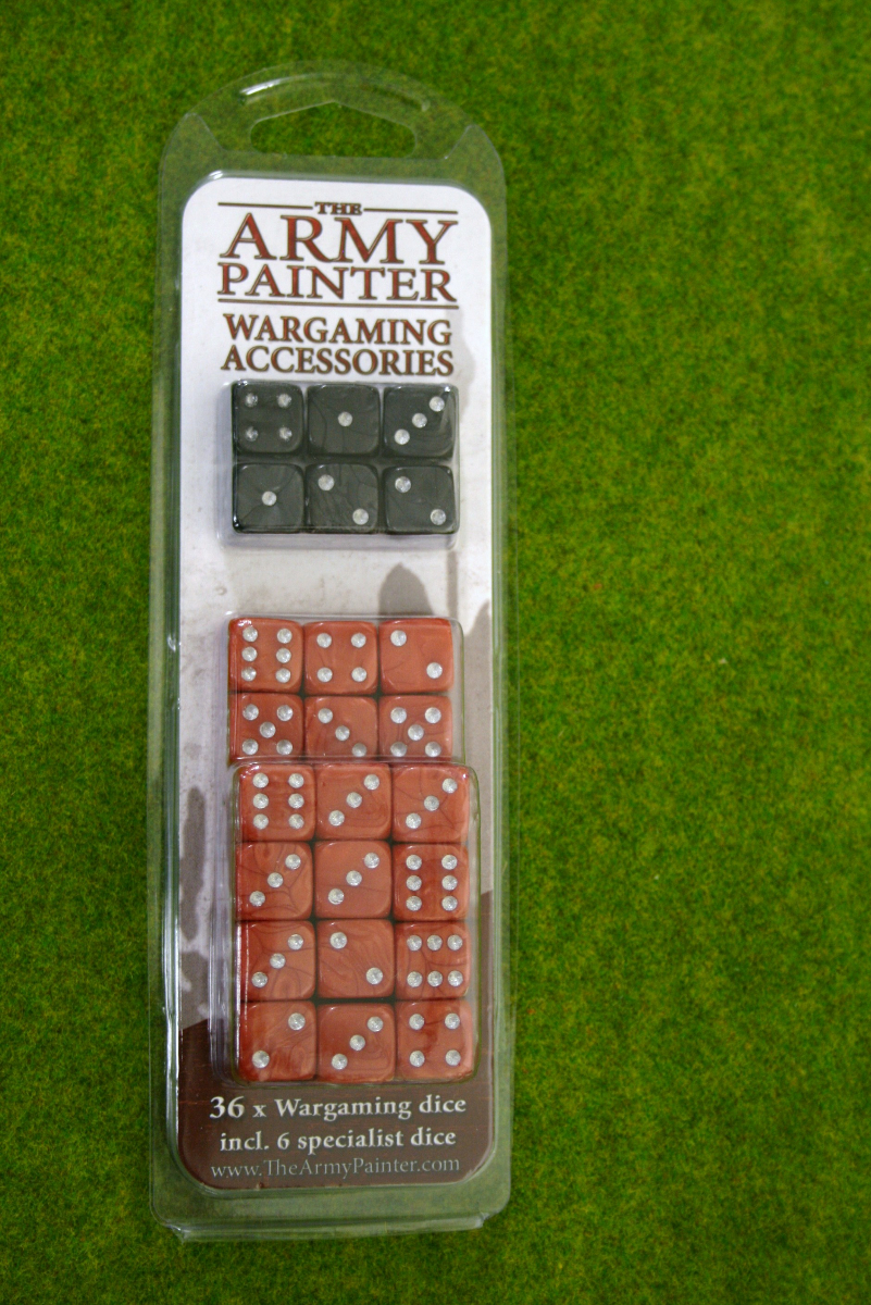 36 x Wargaming DICE 14mm Red & Black from Army Painter