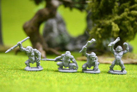 Lucid Eye SIMIANS Pack 1 – Savage Core Tribe SCT32 28mm scale