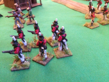 The Black Chasseurs advance!