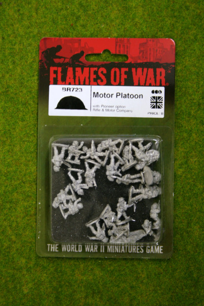 Flames of War MOTOR PLATOON 15MM BR723