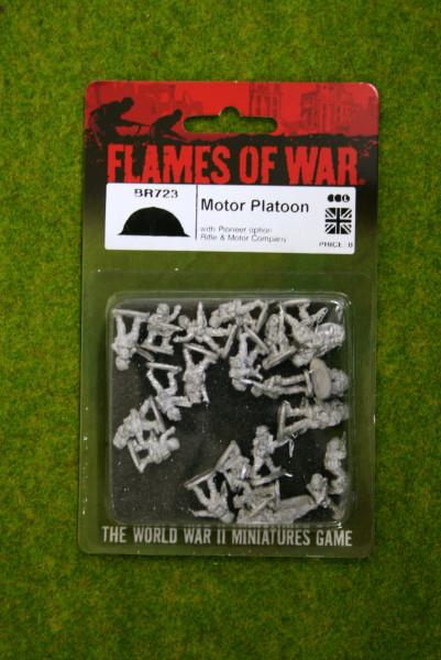 Flames of War MOTOR PLATOON 15MM BR723
