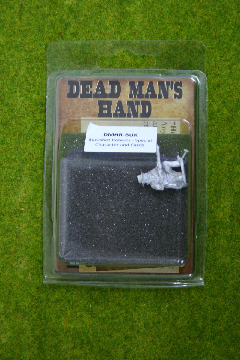 DEAD MANS HAND ROGUE Buckshot Roberts for Old west Skirmish games 28mm