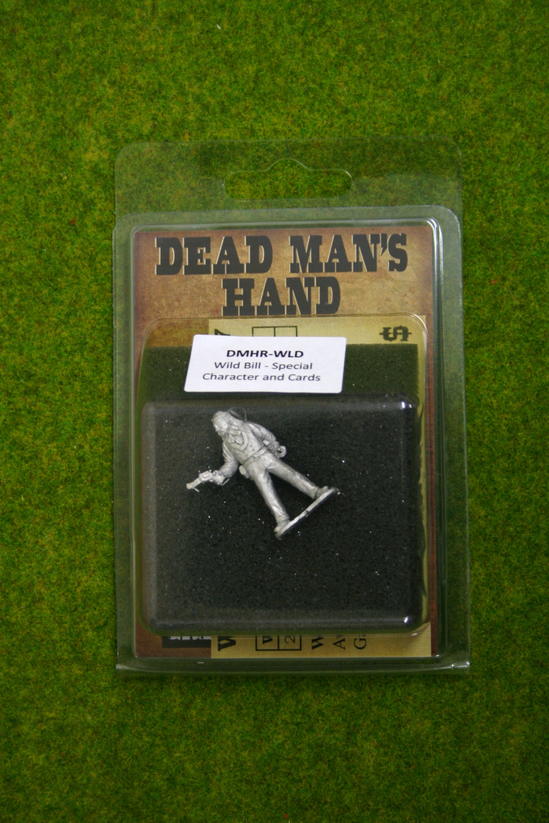 DEAD MANS HAND ROGUE Wild Bill for Old west Skirmish games 28mm