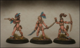 Lucid Eye Amazon Warriors Pack 1 – Savage Core SCT52 28mm scale