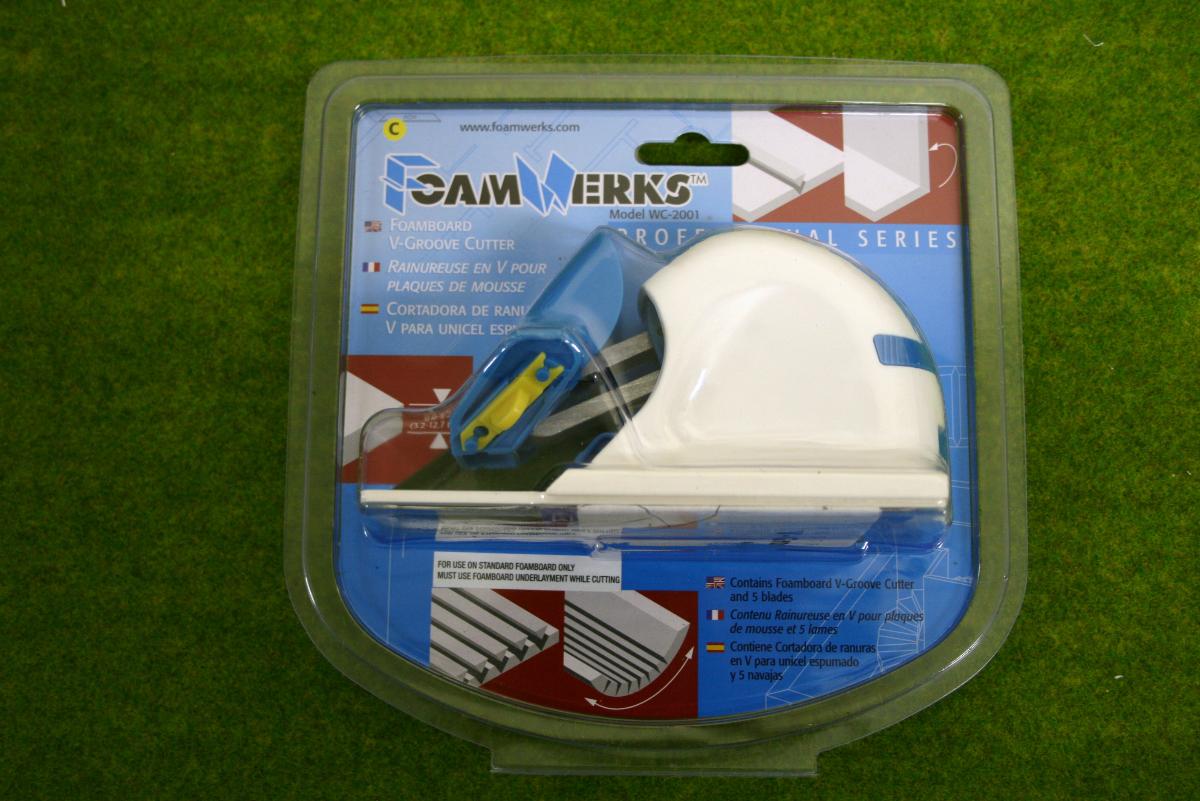 Foamwerks V GROOVE CUTTER Foam board cutter 56002