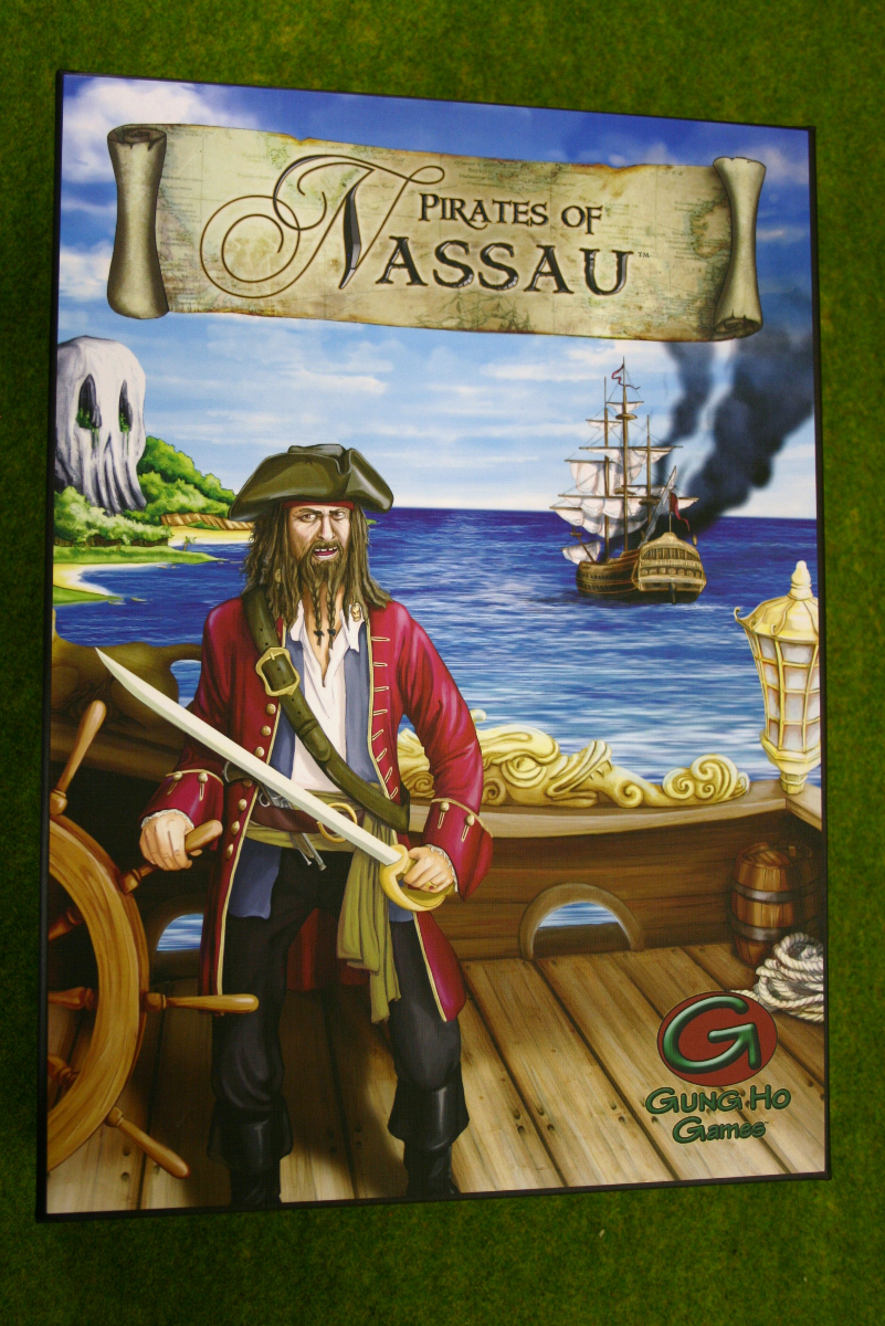 PIRATES OF NASSAU HISTORICAL BOARD GAME from GUNG HO Games