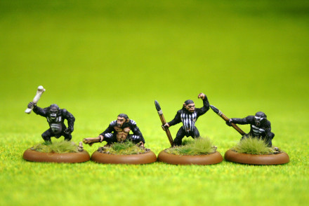 Lucid Eye SIMIANS Pack 2 Savage Core Tribe SIM 2 – 28mm