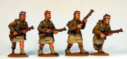 British Highlanders Advancing Footsore Miniatures Great War 07BEF107