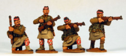 British Highlanders Firing Footsore Miniatures Great War 07BEF108