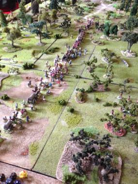 The British Evacuate the Fort!