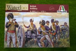 British Artillery Waterloo 200 1/72 Italeri 6041