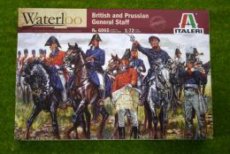 British & Prussian General Staff 1/72 Italeri Napoleonic 6065 200