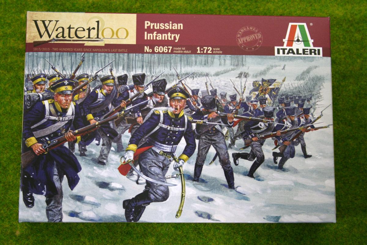 Prussian Infantry Waterloo 200 1/72 Italeri Napoleonic set 6067