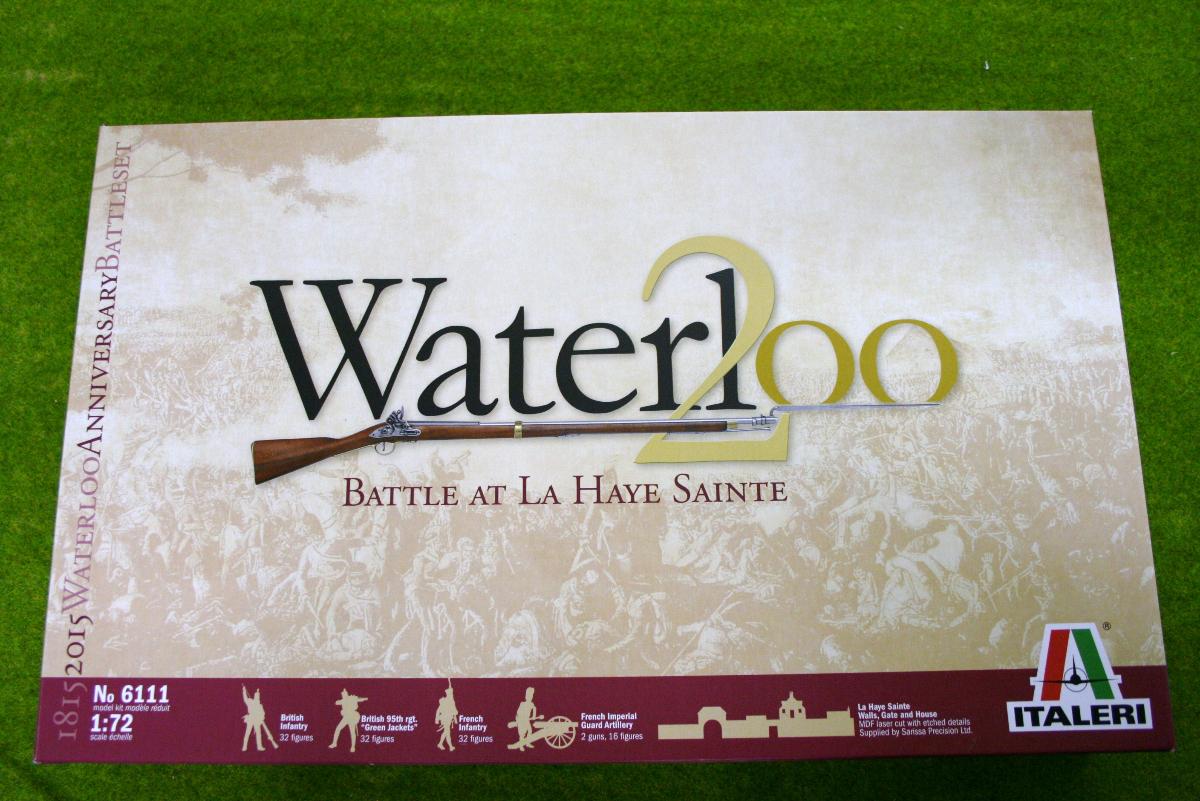 WATERLOO 1815 BATTLE AT LA HAYE SAINTE 1/72 Italeri Napoleonic set 6111