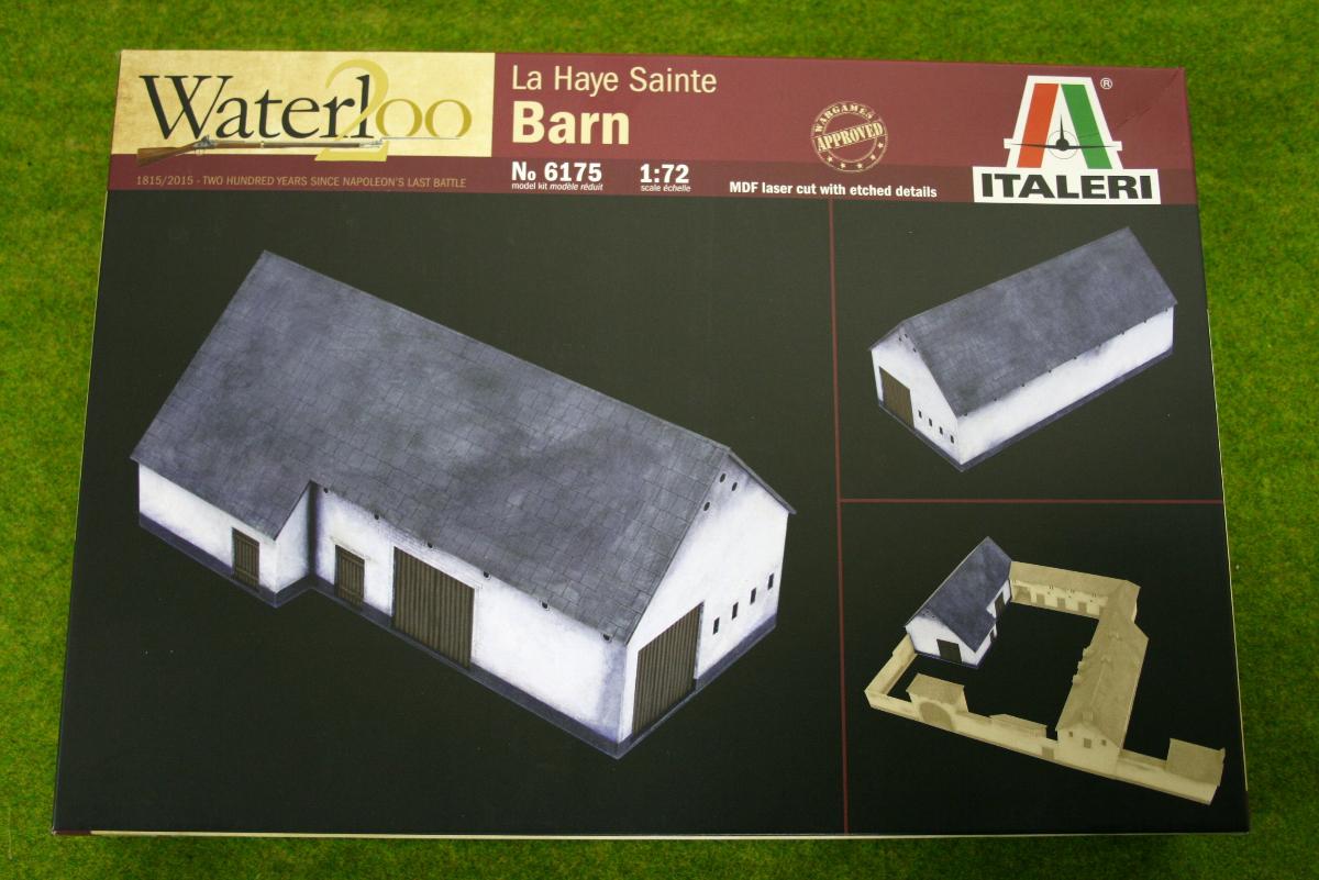 WATERLOO 1815 LA HAYE SAINTE BARN 1/72 Italeri Napoleonic set 6175