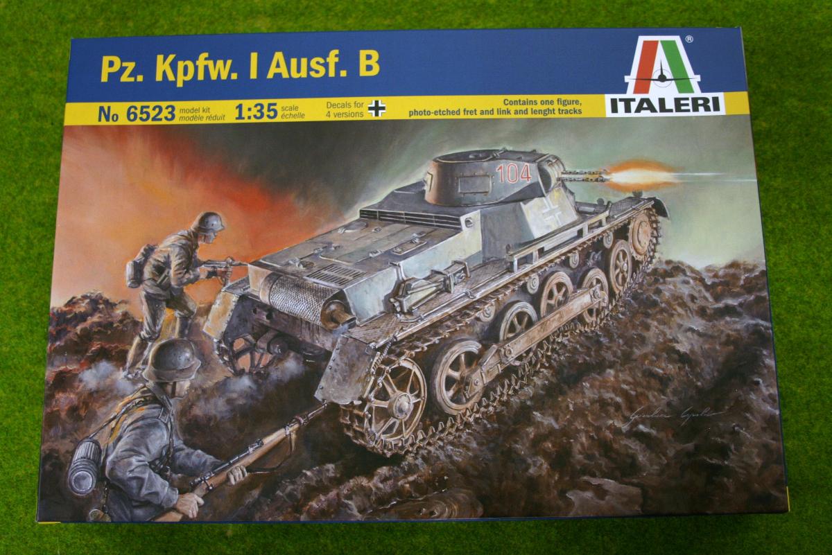 Pz. Kpfw. I Ausf. B Panzer I  1/35 Scale Italeri 6523