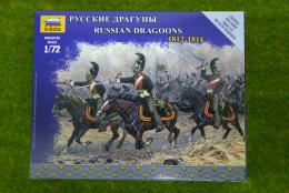 Zvezda RUSSIAN DRAGOONS 1812 – 1814 kit 6811