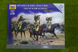 Zvezda FRENCH DRAGOONS 1812 – 1814 kit 6812