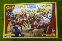 Gripping Beast ARAB LIGHT CAVALRY & HORSE ARCHERS 28mm Plastic