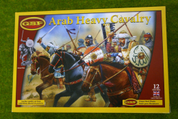 Gripping Beast ARAB HEAVY CAVALRY  28mm Plastic