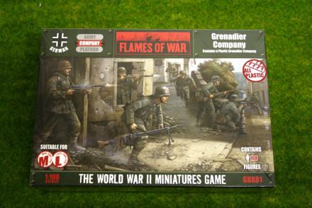 Flames of War German Grenadier Company 15mm GBX81