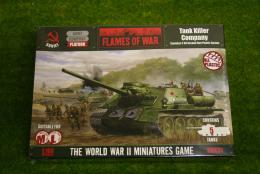 Flames of War Soviet Tank Killer Company PLASTIC 15mm SBX31