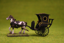Gas Lamp Alley HANSOM CAB with Horse Sarissa Precision 28mm, G058
