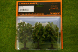 APPLE TREES 3 per pack 3 inches Gaugemaster HO/OO Scale GM183