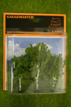 BIRCH TREES 3 per pack Gaugemaster HO/OO Scale GM184