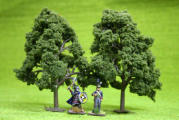 DECIDUOUS TREES 2 per pack 6 inches  JTT Scenery HO/OO Scale LS92109