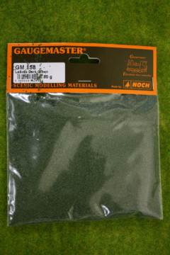 Gaugemaster LEAVES DARK GREEN 50gms bag GM158