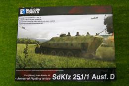 Rubicon Models German SdKfz 251/1 Ausf D Halftrack Armoured Fighting Vehicle 28mm RU01009