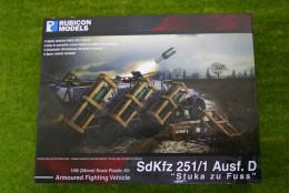Rubicon Models German SdKfz 251/1 Ausf D Stuka zu Fuss 1/56th scale 28mm RU011