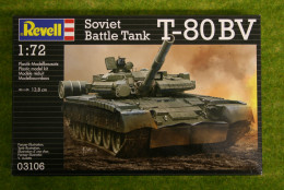 T-80 BV Soviet Battle Tank 1/72 scale Revell kit 3106
