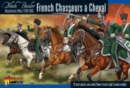 FRENCH CHASSEURS A CHEVAL Warlord Games Black Powder Napoleonics