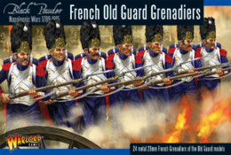 FRENCH OLD GUARD GRENADIERS Warlord Games Black Powder Napoleonics